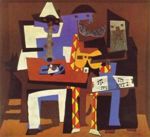 Picasso - Tres músicos