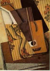 Juan Gris - Guitarra (1914)