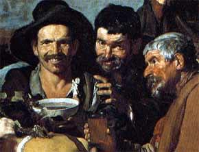 El Triunfo de Baco (Los borrachos) - Velázquez (1628-1629)