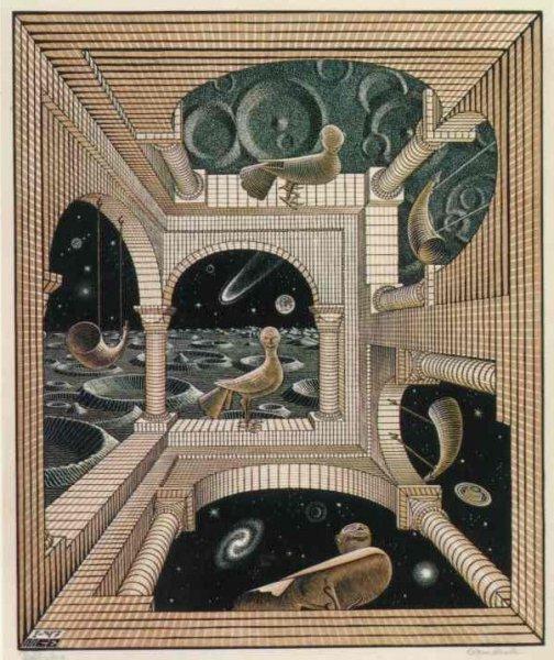 Otro mundo - Escher (1947)