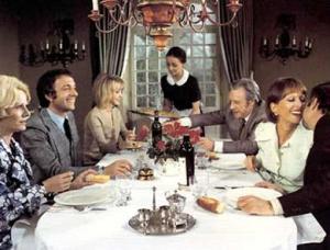 El discreto encanto de la burguesía (Luis Buñuel)