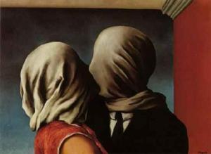 El beso (René Magritte)