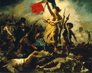 Eugène Delacroix (La libertad guiando al pueblo - 1830)